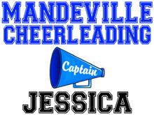 Mandeville High School Cheer Captain Yard Sign (Spirit)