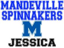 Mandeville High School Spinnaker Yard Sign (M)