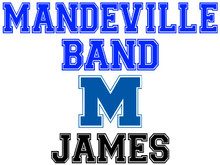 Mandeville High School Band Yard Sign (M)