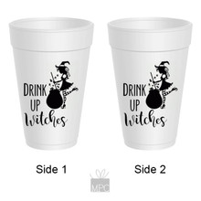Halloween Drink Up Witches Cauldron Styrofoam Cups