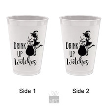 Halloween Drink Up Witches Cauldron Frost Flex Plastic Cups