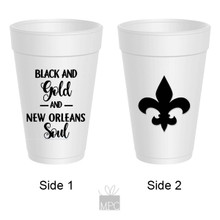 Black and Gold and New Orleans Soul