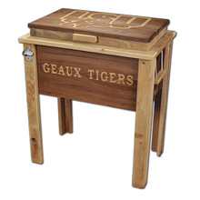 Louisiana Cypress Ice Chest - Rustic Finish