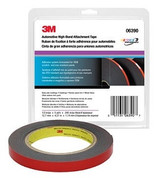 "3M™ ½"" x 5yds Black Hi-Bond Automotive Acrylic Attachment Tape"
