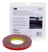 "3M™ ¼"" x 20yds Gray Automotive Acrylic Attachment Tape"