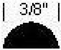 4737 Half Round Sponge Rubber