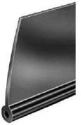 Black Fender Welt - Extruded Smooth Plastic