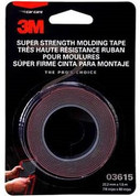"3M™ Scotch-Mount™ ⅞"" x 5ft Black Automotive Acrylic Attachment Tape"