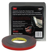 "3M™ ½"" x 20yds Black Automotive Acrylic Attachment Tape"