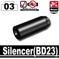 BD23 Silencer Attachment