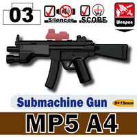 MP5A4 SMG