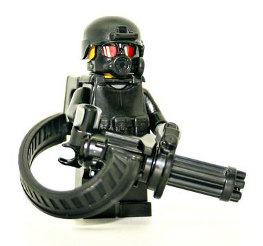 how to make a lego minigun