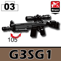 G3SG1 Sniper Rifle with bipod