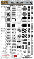 Heavy Metal Sticker Sheet