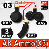 Pack of 3 AK47 clips