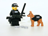 Police K9 Unit Tactical Officer