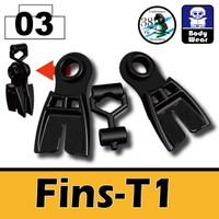 Minifigure Fins T1 Navy Seal Flippers