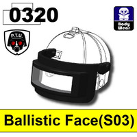 Ballistic Face Guard (S03)