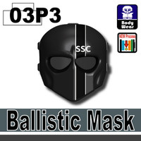 Ballistic Mask SSC Printed