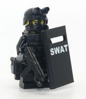 Swat Slit Riot Shield Officer