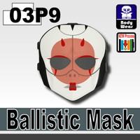 Ballistic Mask Geisha Printed