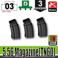 5.56 Ammo Mag BLACK x3