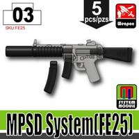 MP5SD Attachments BLACK