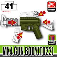 M4 Receiver TANK GREEN