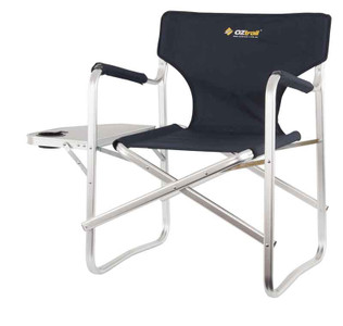 Oztrail Directors Studio Chair with Side Table