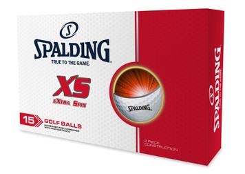Spalding XS 'Extra Spin' Golf Balls 15pk