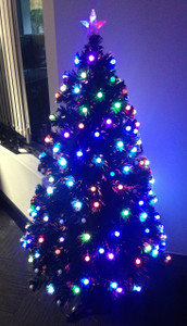 150cm LED Colour Ball Change Christmas Tree