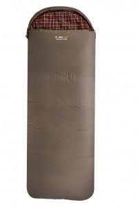 Oztrail Cotton Canvas Jumbo Hooded -12C Sleeping Bag