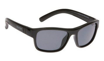 Ugly Fish Junior Polarised Sunglasses PK699 Black Frame Smoke Lens