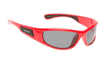 Ugly Fish Junior Polarised Sunglasses PK911 Red Frame Smoke Lens