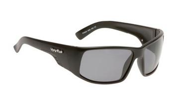 Ugly Fish TR-90 Polarised Sunglasses P4664 Matt Black Frame Smoke Lens