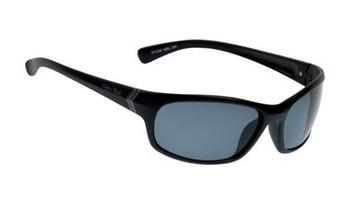 Ugly Fish TR-90 Polarised Sunglasses P7338 Matt Black Frame Smoke Lens