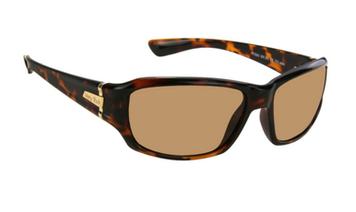 Ugly Fish TR-90 Polarised Sunglasses P7880 Brown Frame Brown Lens