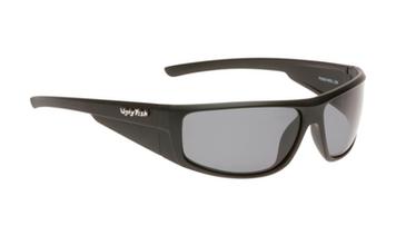 Ugly Fish TR-90 Polarised Sunglasses P8084 Matt Black Frame Smoke Lens