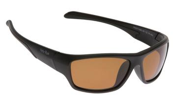Ugly Fish Polarised Sunglasses PU5117 Matt Black Frame Brown Lens