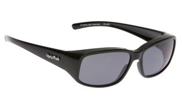 Ugly Fish Polarised P106 Over Sunglasses Black TR-90 Frame Smoke Lens