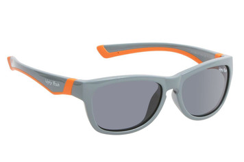 Ugly Fish Junior Polarised Sunglasses PK488 Grey Frame Smoke Lens