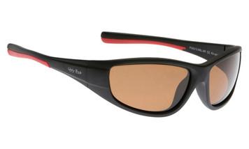 Ugly Fish Polarised Sunglasses PU5212 Matt Black Frame Brown Lens