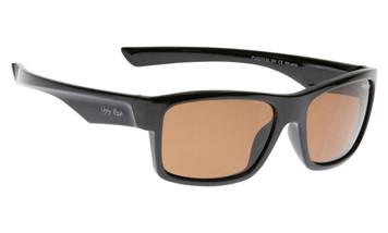 Ugly Fish Polarised Sunglasses PU5279 Black Frame Brown Lens