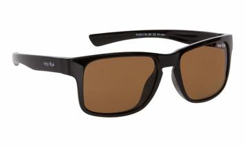 Ugly Fish Polarised Sunglasses PU5311 Black Frame Brown Lens