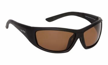 Ugly Fish Polarised Sunglasses PU5447 Matt Black Frame Brown Lens