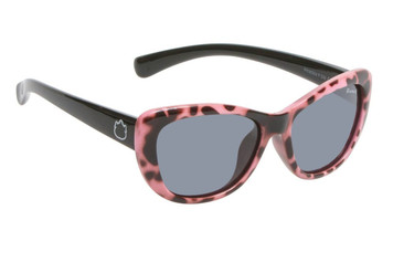 Ugly Fish Polarised Sunglasses PKM504 Pink Frame Smoke Lens