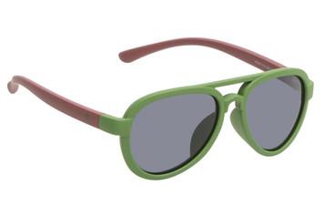 Ugly Fish Polarised Sunglasses PKR 776 Green Frame Smoke Lens