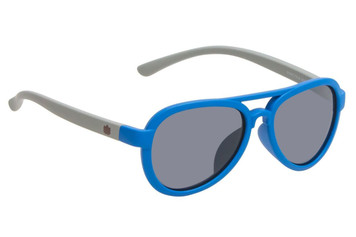 Ugly Fish Polarised Sunglasses PKR 776 Blue Frame Smoke Lens