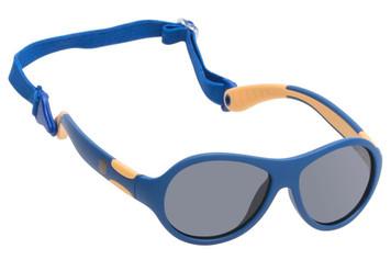 Ugly Fish Polarised Sunglasses PKR 122 Blue Frame Smoke Lens