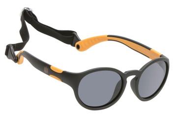 Ugly Fish Polarised Sunglasses PKR 144 Matt Black Frame Smoke Lens